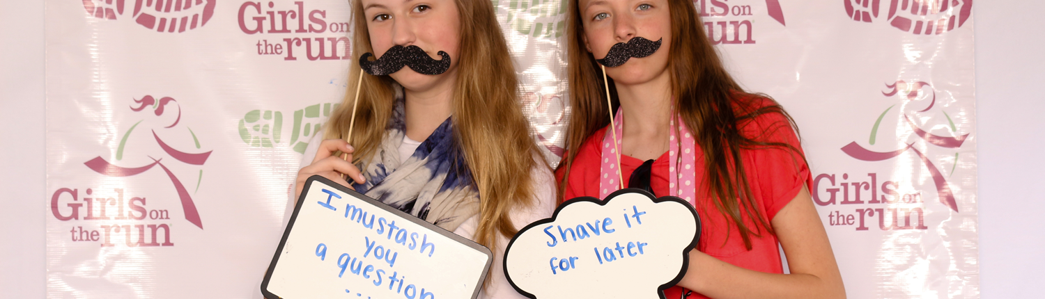 Photobooth mustache you a question shave it for later